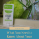 What You Need to Know About Your Deodorant